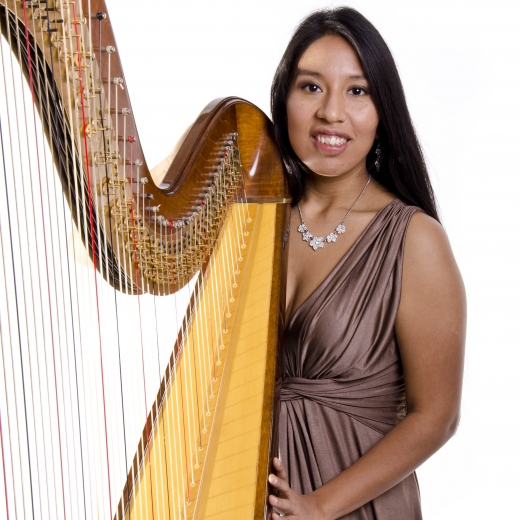 Ruby A - Harpist