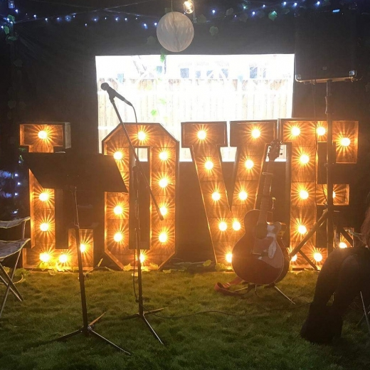 Light Up Letter Hire