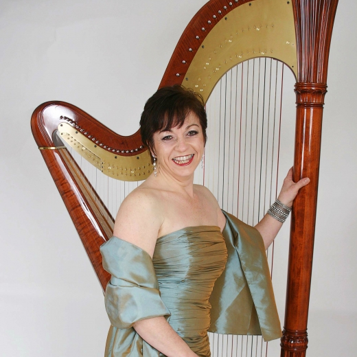 Maria N - Harpist and Flautist