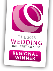 wedding industry awards regional winner