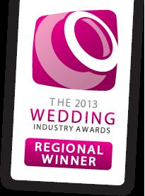 wedding industry awards regional winner